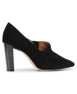 caprice gynaikeio dermatino kastor mayro tsimpolis shoes