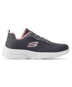 skechers dynamight 2.0 gynaikeio sneaker anthraki tsimpolis shoes