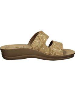 inblu anatomikh pantofla mpez xryso tsimpolis shoes