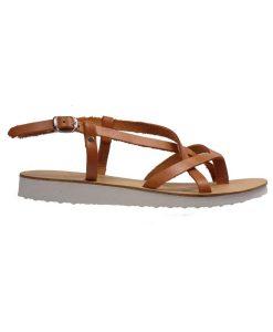 Tsimpolis Shoes 691 Oxford Απο Συνθετικό Δέρμα Καφέ  59af952c454