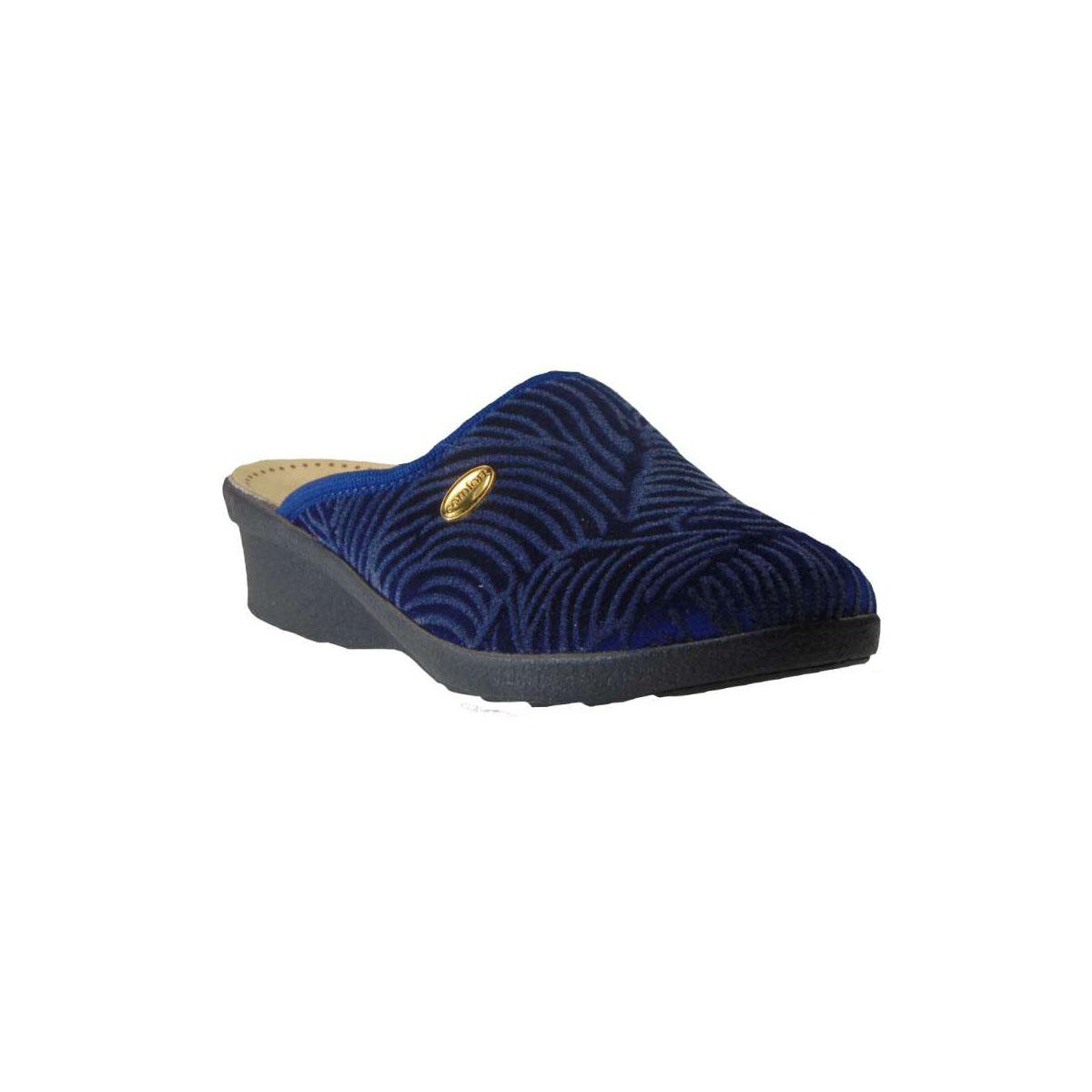 Le Soft 30013 Γυναικεία Ανατομική Παντόφλα Μπλε