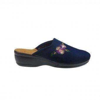 inblu anatomiki pantofla spitiou mple  tsimpolis shoes