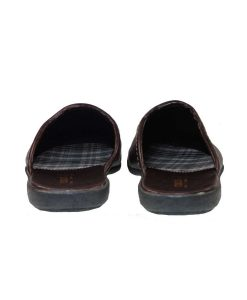 tsimpolis shoes pantofla spitiou apo adiabroxo sunthetiko derma kafe