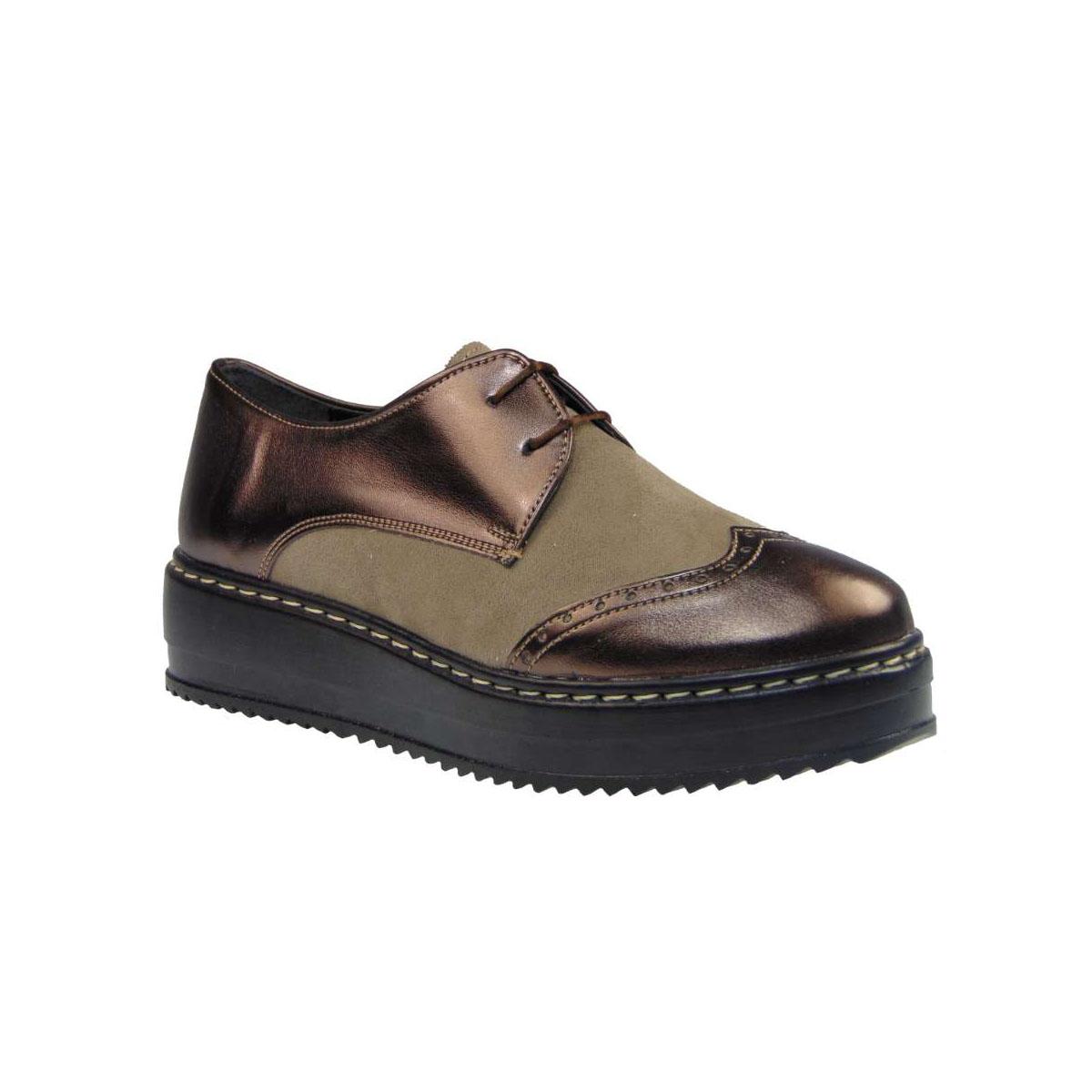Tsimpolis Shoes 170 Oxford Απο Συνθετικό Δέρμα Πούρο