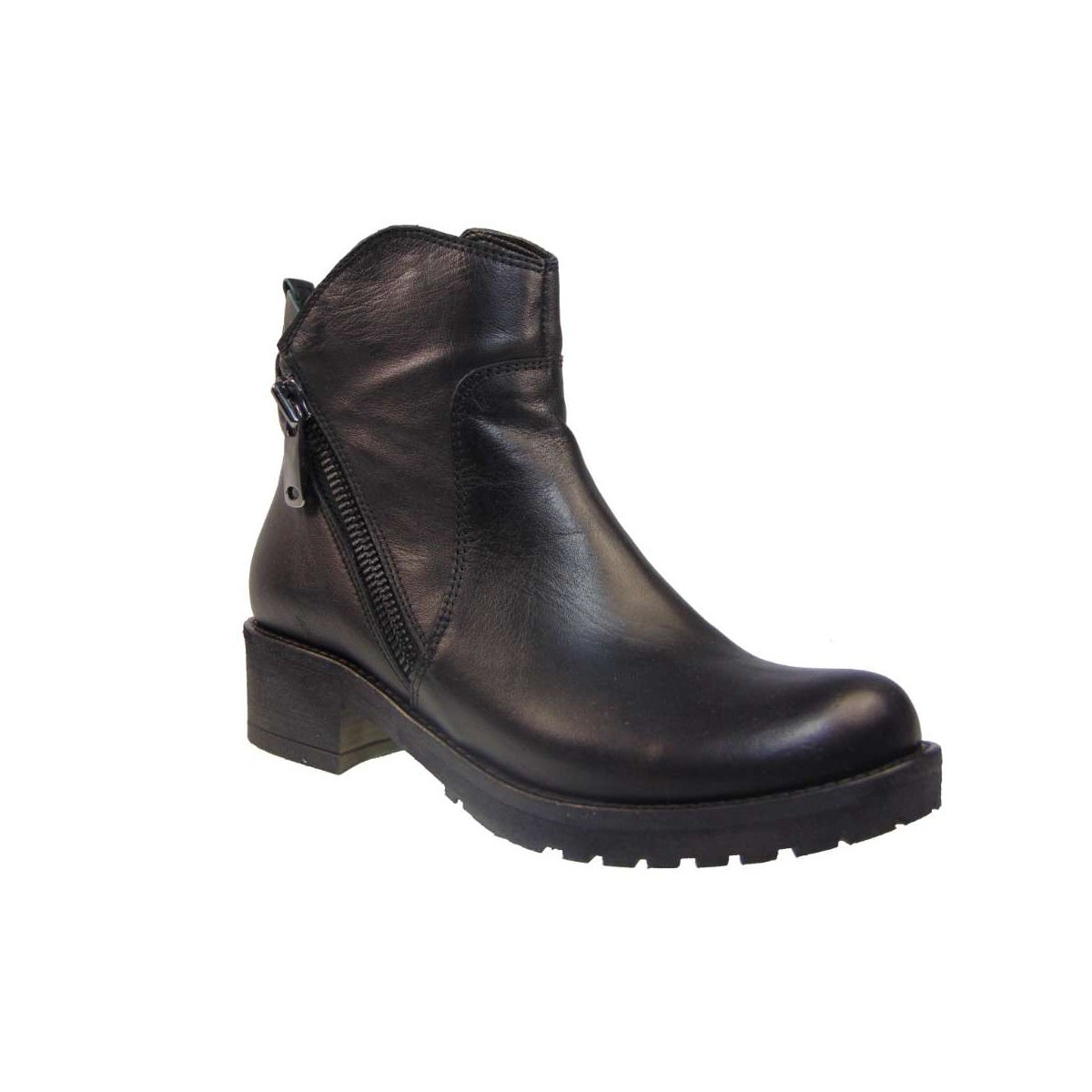 -54% Tsimpolis Tsimpolis Shoes 4041 Μποτάκι Απο Γνήσιο Δέρμα Μαύρο c169cb8ab0d