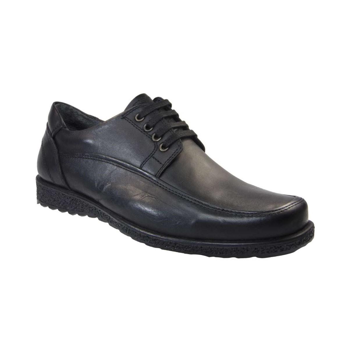 Tsimpolis Shoes 886 Ανδρικό Δετό Δερμάτινο Μαύρο  28e6f87472c