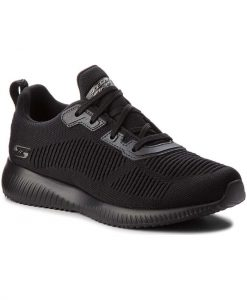 Skechers Bobs Squad- Tough Talk 32504/BBK Γυναικείο Sneaker Μαύρο
