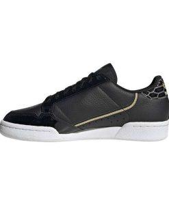 Adidas Continental 80 W FV3417 Δερμάτινο Sneaker Μαύρο