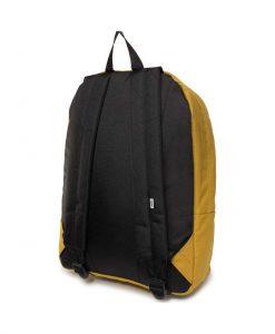 vans realm backpack olive oil