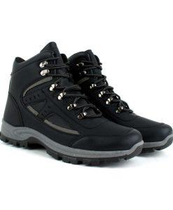Tsimpolis Shoes TC8598 Ανδρικό Μποτάκι Μαύρο