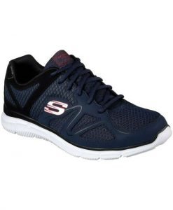 Skechers Satisfaction-Flash Point 58350/NVBK Ανδρικό Sneaker Μπλε