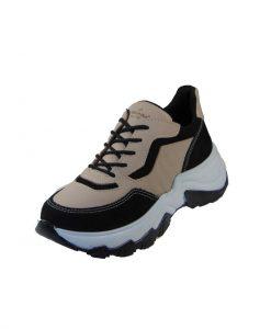 Pegada 219703-04 Γυναικείο Sneaker Δερμάτινο Κρεμ