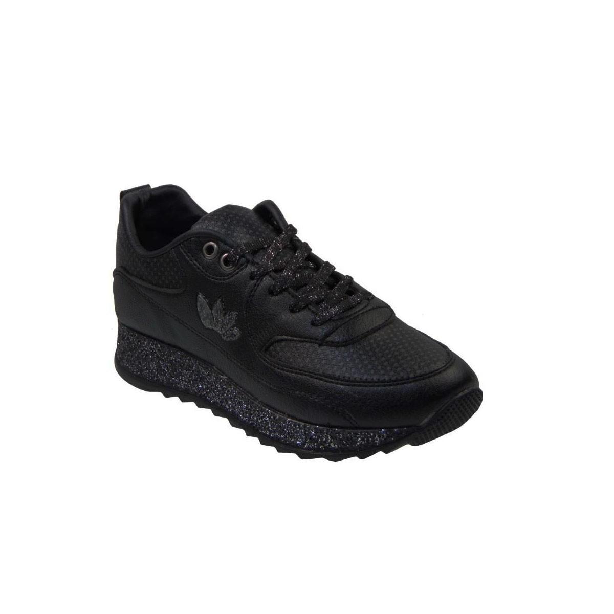 527ec6e79a7 Tsimpolis Shoes 104 Αθλητικό Γυναικείο Από Τεχνοδέρμα Μαύρο ...