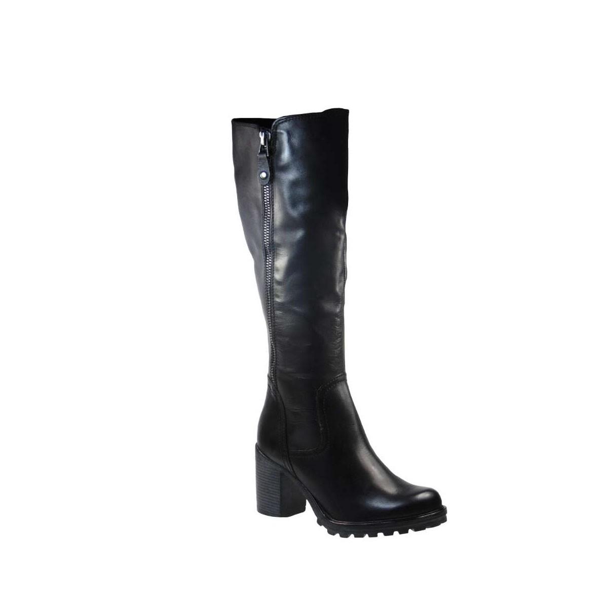 Μarco Tozzi 25623-21 002 Casual Ανατομική Μπότα Από Γνήσιο Δέρμα Μαύρη