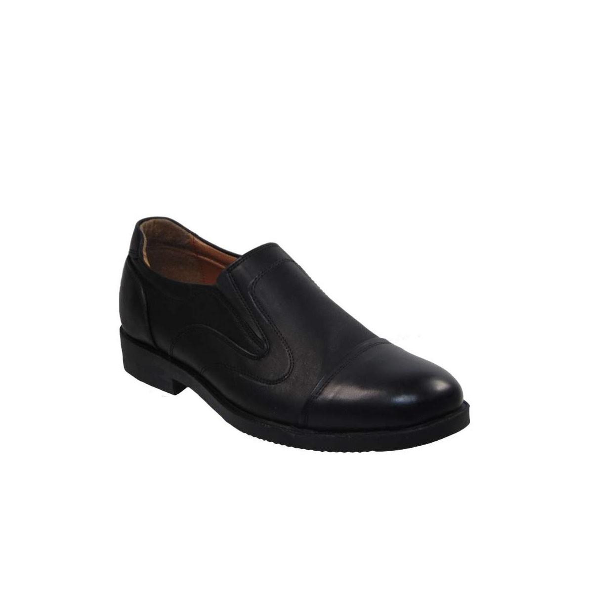 Tsimpolis Shoes 739 Slip On Ανδρικό Δερμάτινο Μαύρο