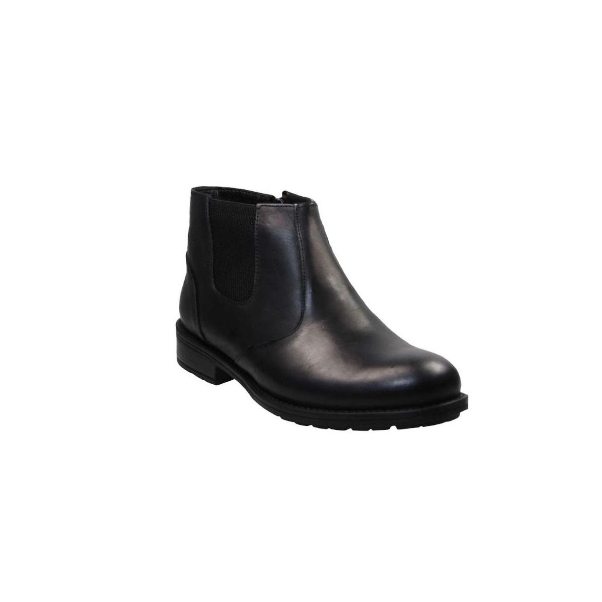 -29% Tsimpolis Tsimpolis Shoes 217 Μποτάκι Δερμάτινο Μαύρο 7a53f50eb52