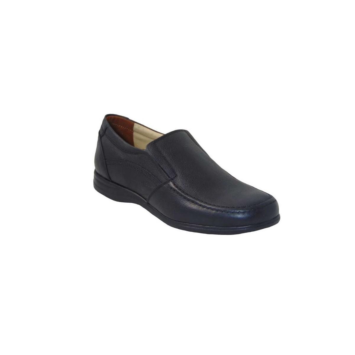 Tsimpolis Shoes 430 Ανδρικό Slip On Δερμάτινο Μαύρο