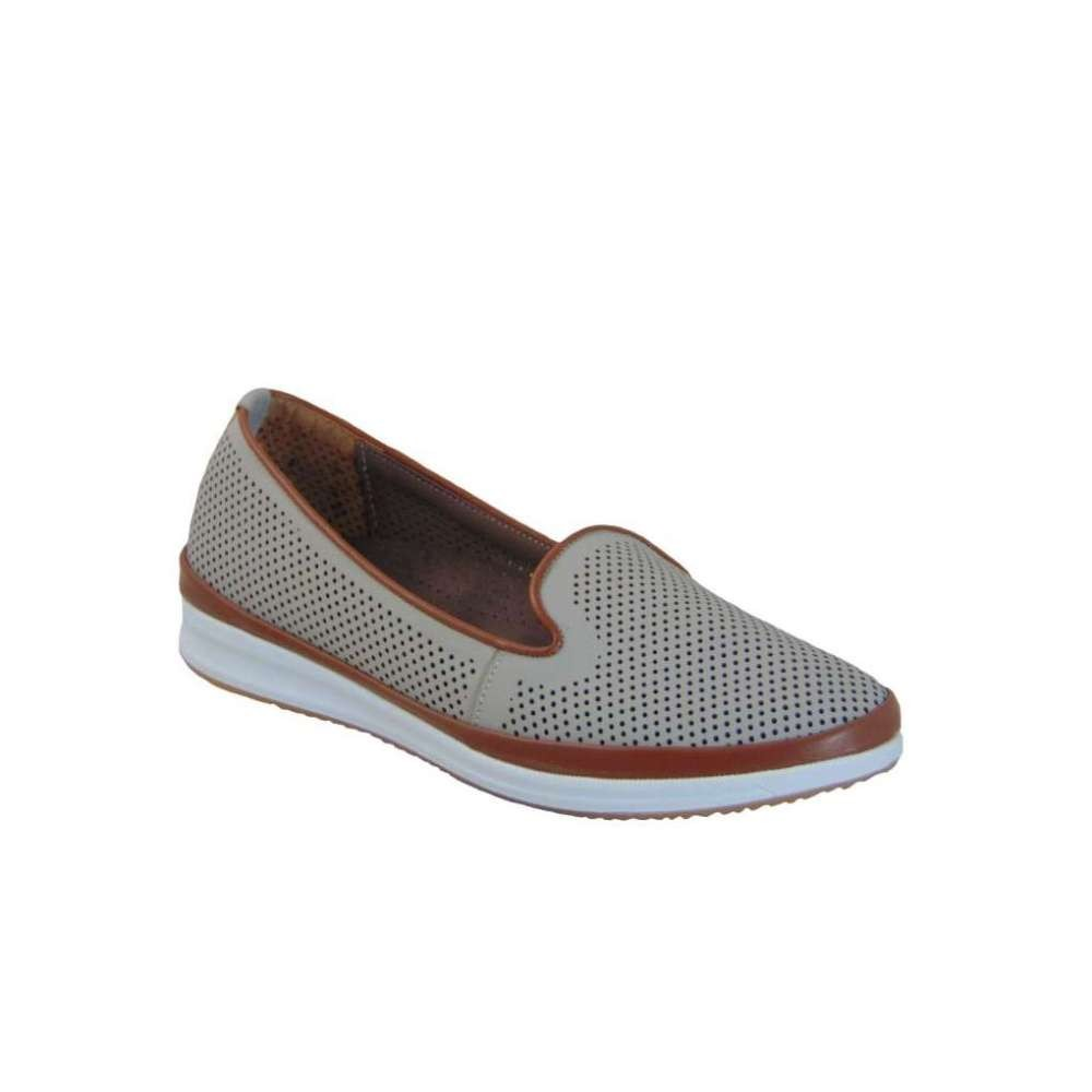 7ae589dc8e6 Tsimpolis Shoes 134 Γυναικείο Casual Από Τεχνόδερμα Γκρί | Tsimpolis.gr