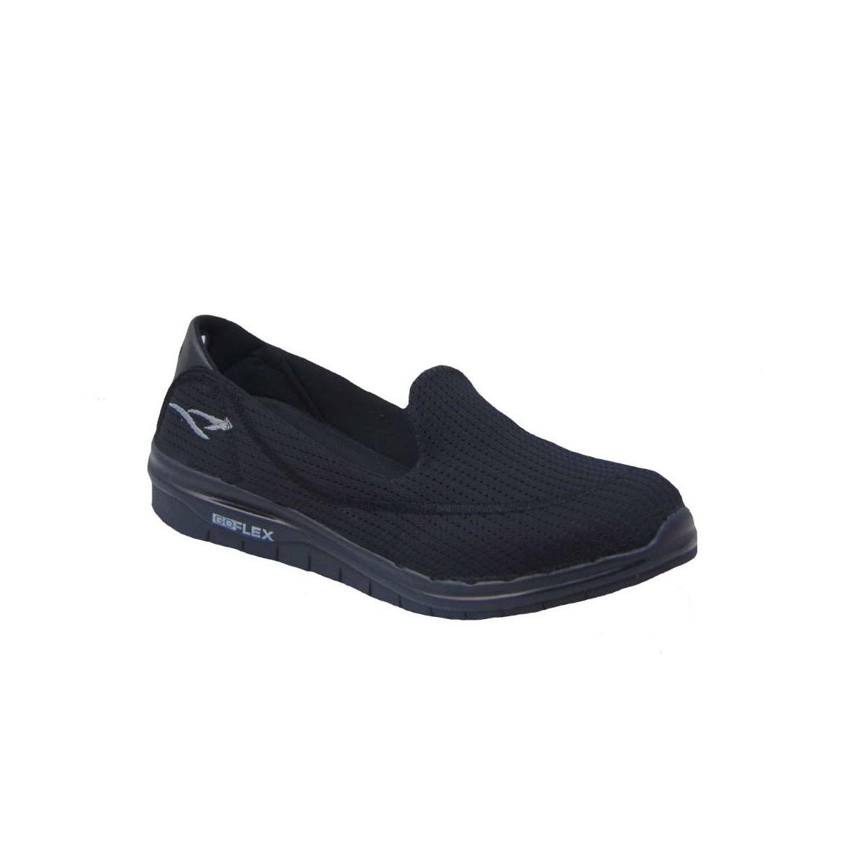 Tsimpolis Shoes 2010 Γυναικείο Slip On Από Τεχνοδέρμα Μαύρο