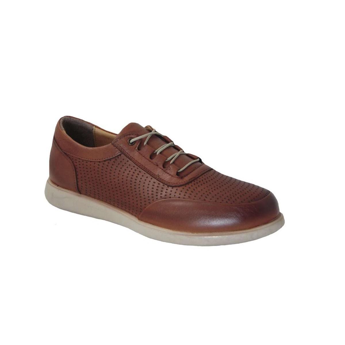 Tsimpolis Shoes 905 Ανατομικό Δερμάτινο Δετό Ταμπά