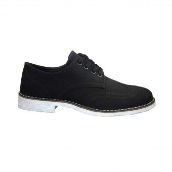 casual oxford apo texnokastor mayro tsimpolis shoes