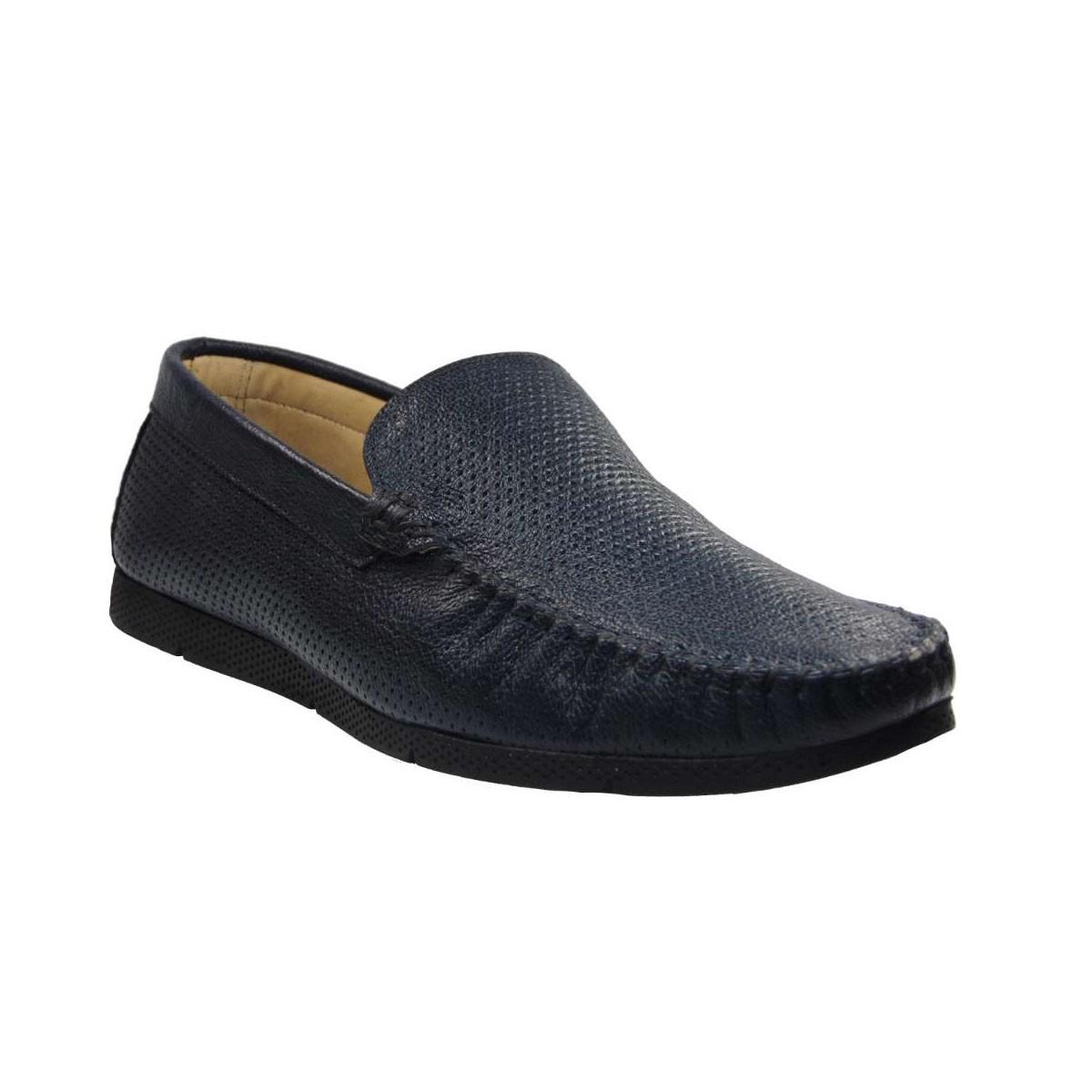 Tsimpolis Shoes R147 Ανδρικό Μοκασίνι Απο Γνήσιο Δέρμα Μπλε