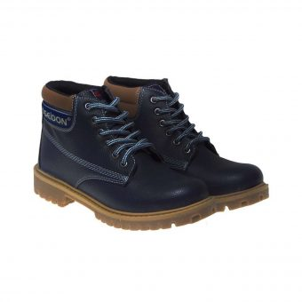 poseidon casual mpotaki apo adiabroxo texnoderma mple skouro tsimpolis shoes