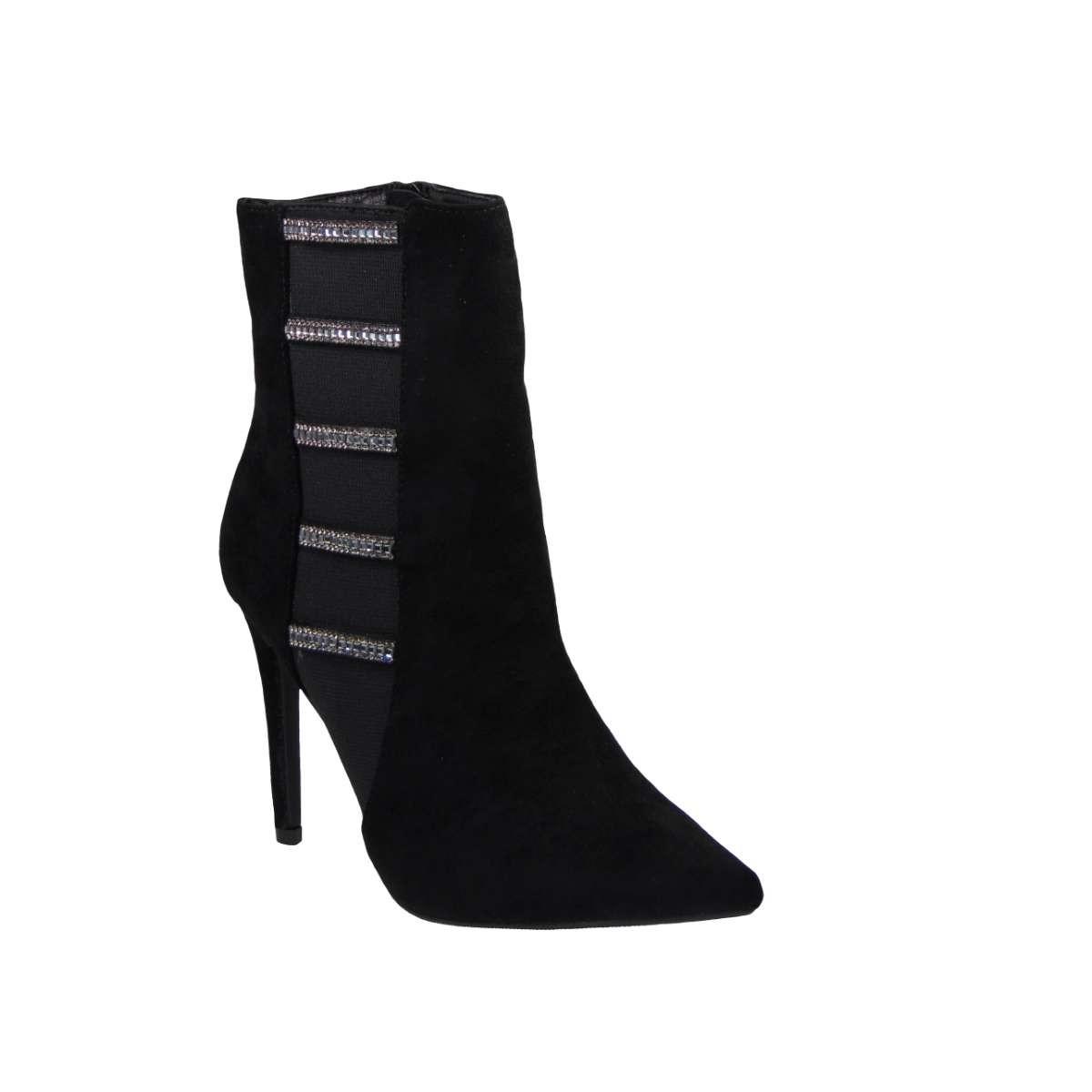 Tsimpolis Shoes C77 Μποτάκι Από Τεχνοκαστόρ Μαύρο