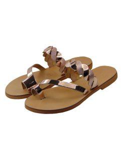 tsimpolis shoes gynaikeia pantofla dermatinh xalkinh