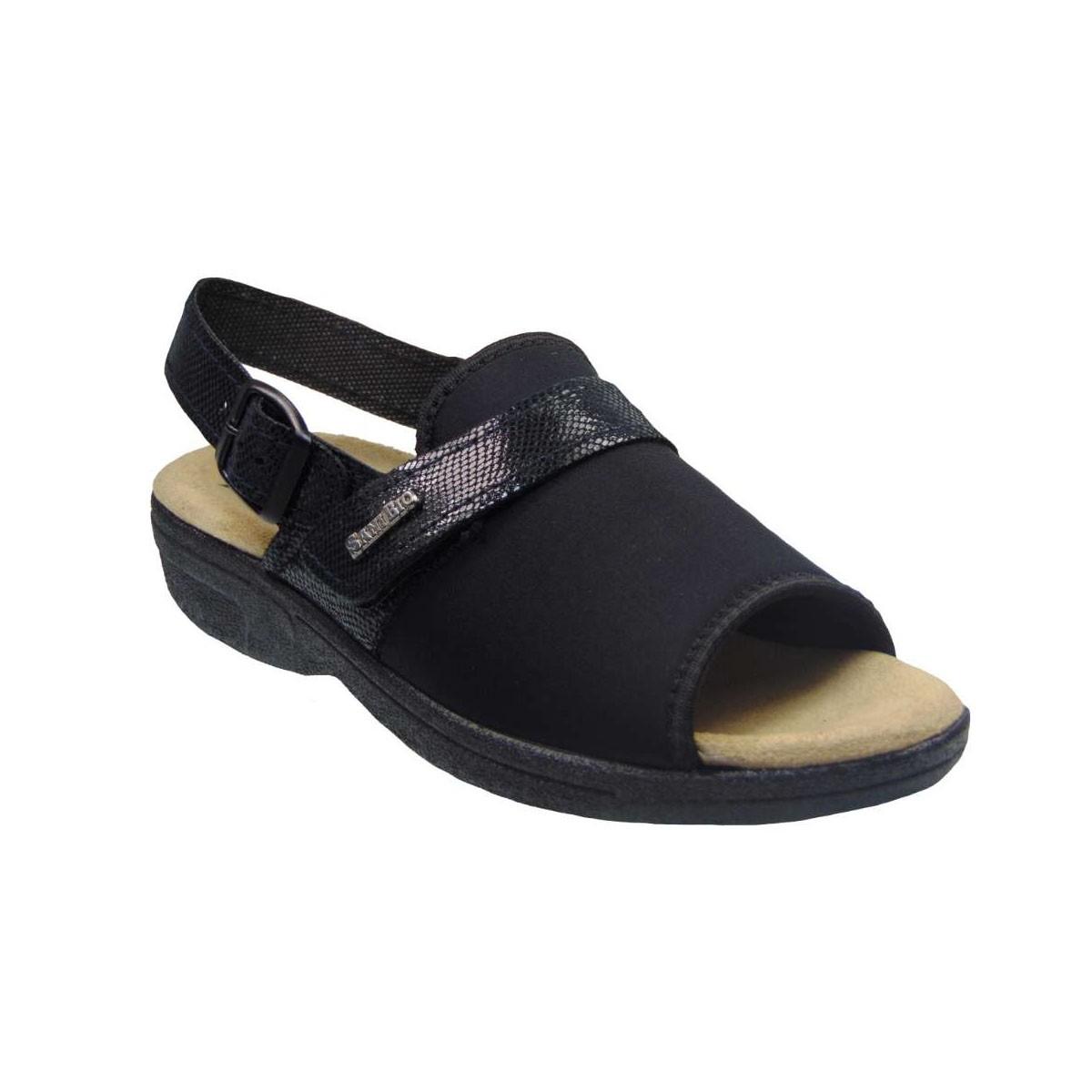 Tsimpolis Shoes 1416 Ανατομικό Πέδιλο Μαύρο