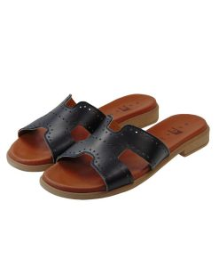 tsimpolis shoes gyanikeia pantofla dermatinh mayrh
