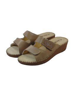 patrizia anatomikh dermatinh pantofla mpez tsimpolis shoes
