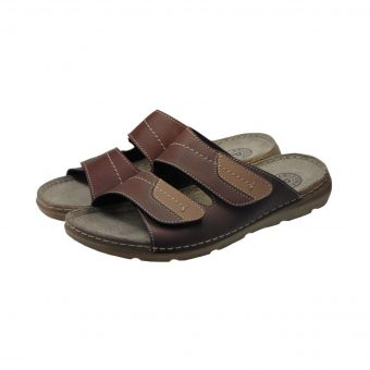 arizona anatomiki pantofla kafe tsimpolis shoes