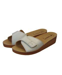 inblu anatomikh pantofla leukh perle tsimpolis shoes