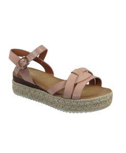 tsimpolis shoes gynaikeio pedilo apo texnoderma roz apalo
