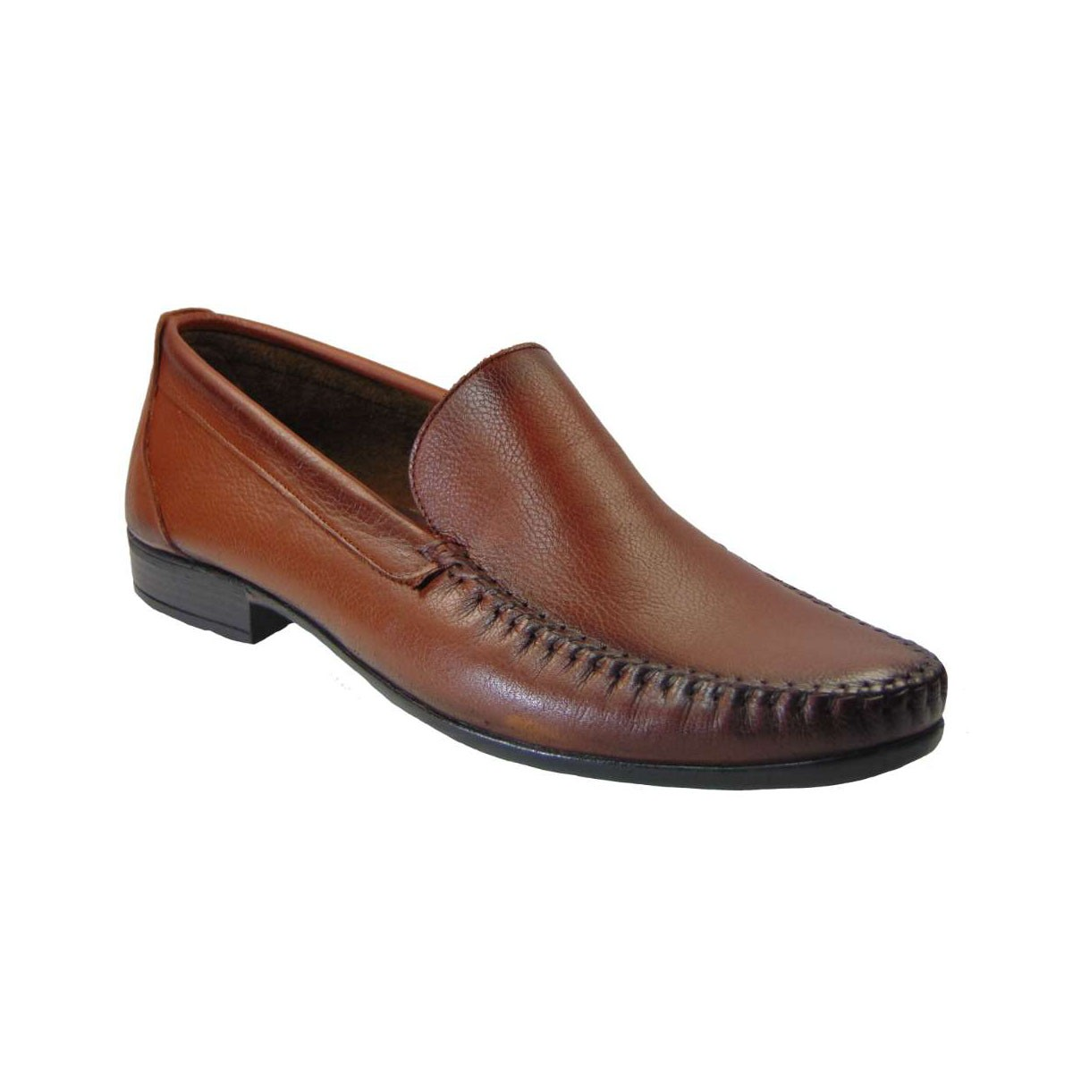 Tsimpolis Shoes 708 Slip On Απο Γνήσιο Δέρμα Ταμπά