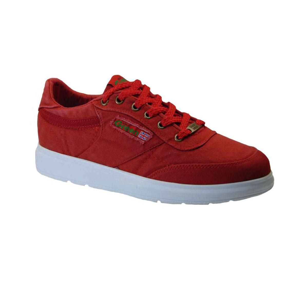 1faf445a442 Black Green Gr200 Sneaker Υφασμάτινο Κόκκινο