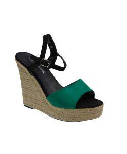 tsimpolis shoes platforma apo texnoderma prasinh