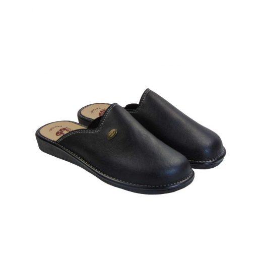 tsimpolis shoes pantofla andrikh mayro apo texnoderma