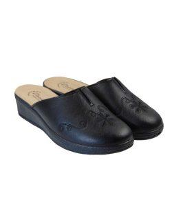 tsimpolis shoes anatomikh pantofla gynaikeia mayrh
