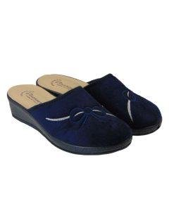 tsimpolis shoes anatomikh pantofla gynaikeia mple