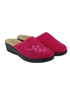 tsimpolis shoes anatomikh pantofla gynaikeia fouksia
