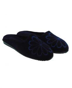 Tsimpolis Shoes N88 Γυναικεία Παντόφλα Σπιτιού Μπλε