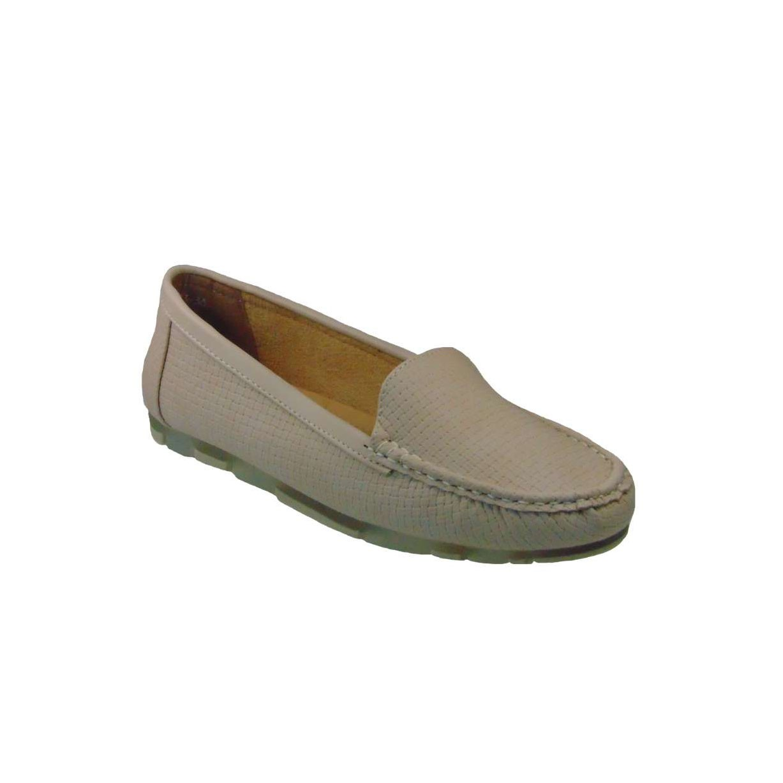 Tsimpolis Shoes TS6483 Γυναικείο Μοκασίνι Από Τεχνόδερμα Μπέζ