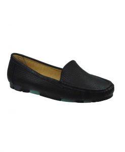 tsimpolis shoes gynaikeio mokasini apo texnoderma mayro