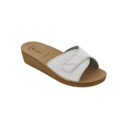 inblu gynaikeia anatomikh pantofla leukh tsimpolis shoes