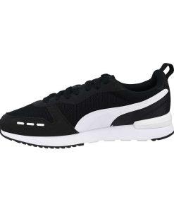 puma R78 andriko athlitiko mayro aspro tsimpolis shoes