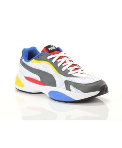 puma ascend lite multicolor andriko athlitiko tsimpolis shoes