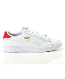 puma smash V2 L sneaker andriko leuko tsimpolis shoes