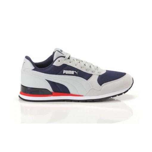 puma st runner V2 mesh athlitiko andriko gkri/mple tsimpolis shoes